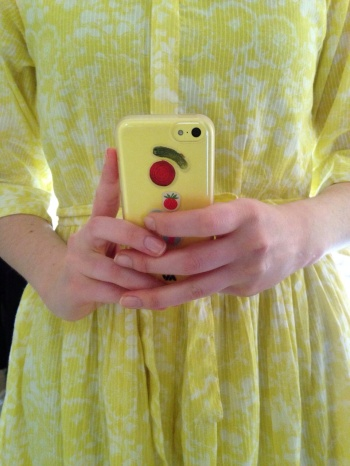 Not my colour, but my friend Annie can sport light yellow like no one does!
