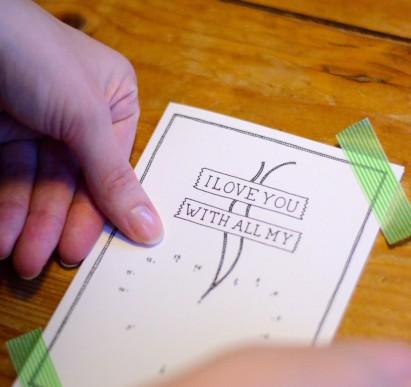 Dit kaartje versturen naar je lief? Dat kan door hier te klikken!